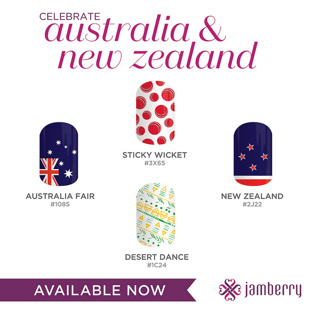Jamberry Australia and New Zealand designs