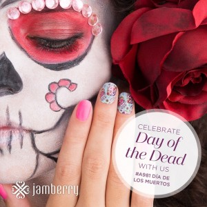 Jamberry day of the dead instagram competition