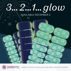 glow in the dark jamberry wraps