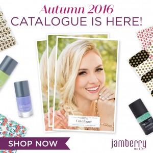 Jamberry Autumn 2016 catalogue