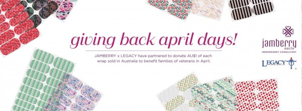 Jamberry donates to legacy
