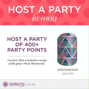 May host incentive - Shockwave exclusive wrap