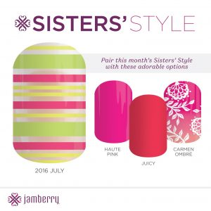 July SIsters style exclusive Jamberry