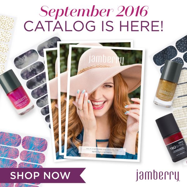 Jamberry September 2016 Catalogue