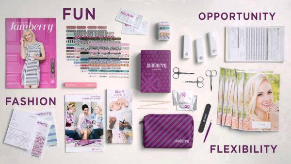 Jamberry starter kit