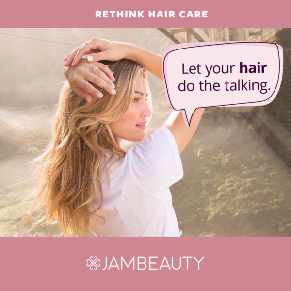 50% jambeauty hair care