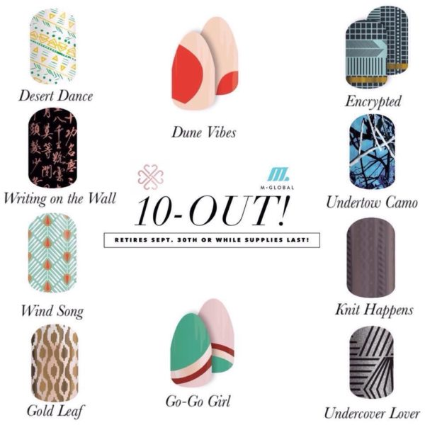 September 10 out Jamberry