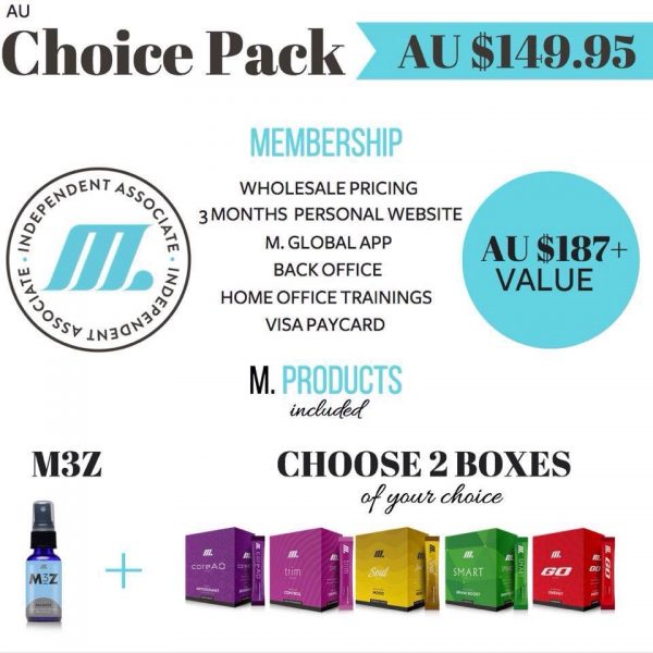 Join M Global with the style Choice starter pack. Join Jamberry