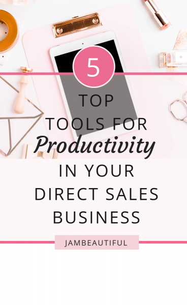Top productivity tools and apps for direct sales consultants and small business